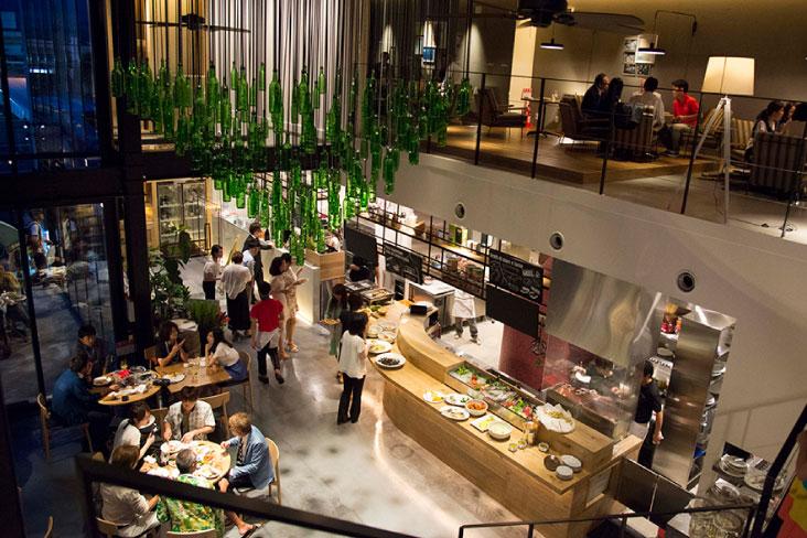 イル・パッチーニの店内風景